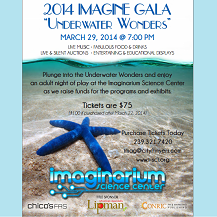 Underwater Wonders Gala at the Imaginarium
