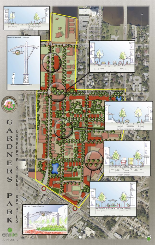 EnSite is helping Gardner's Park become a destination for art, shopping, dining and recreation