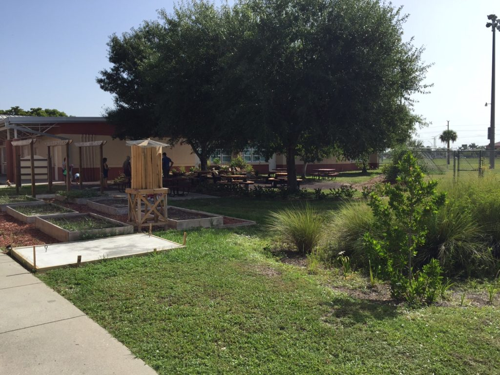 Ensite helped create outdoor classrooms at Tanglewood Elementary School