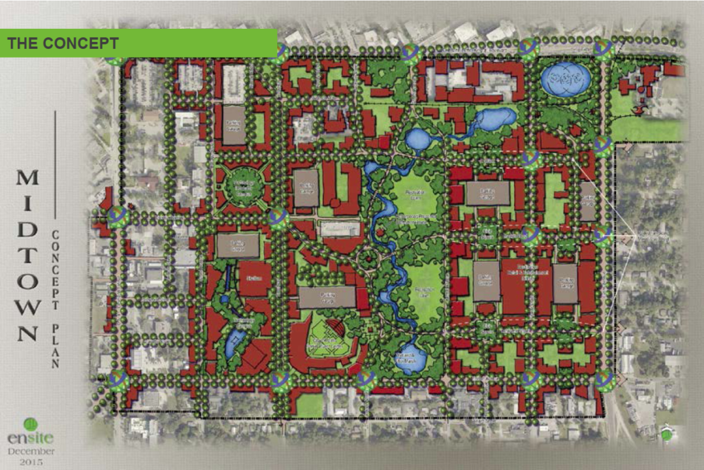 Midtown Fort Myers Concept Plan