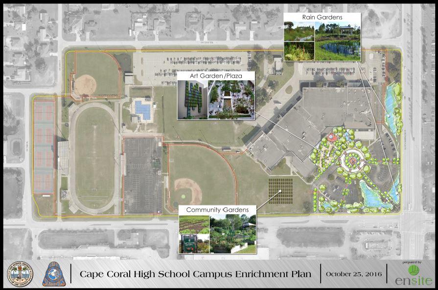 Cape Coral HS conceptual plan