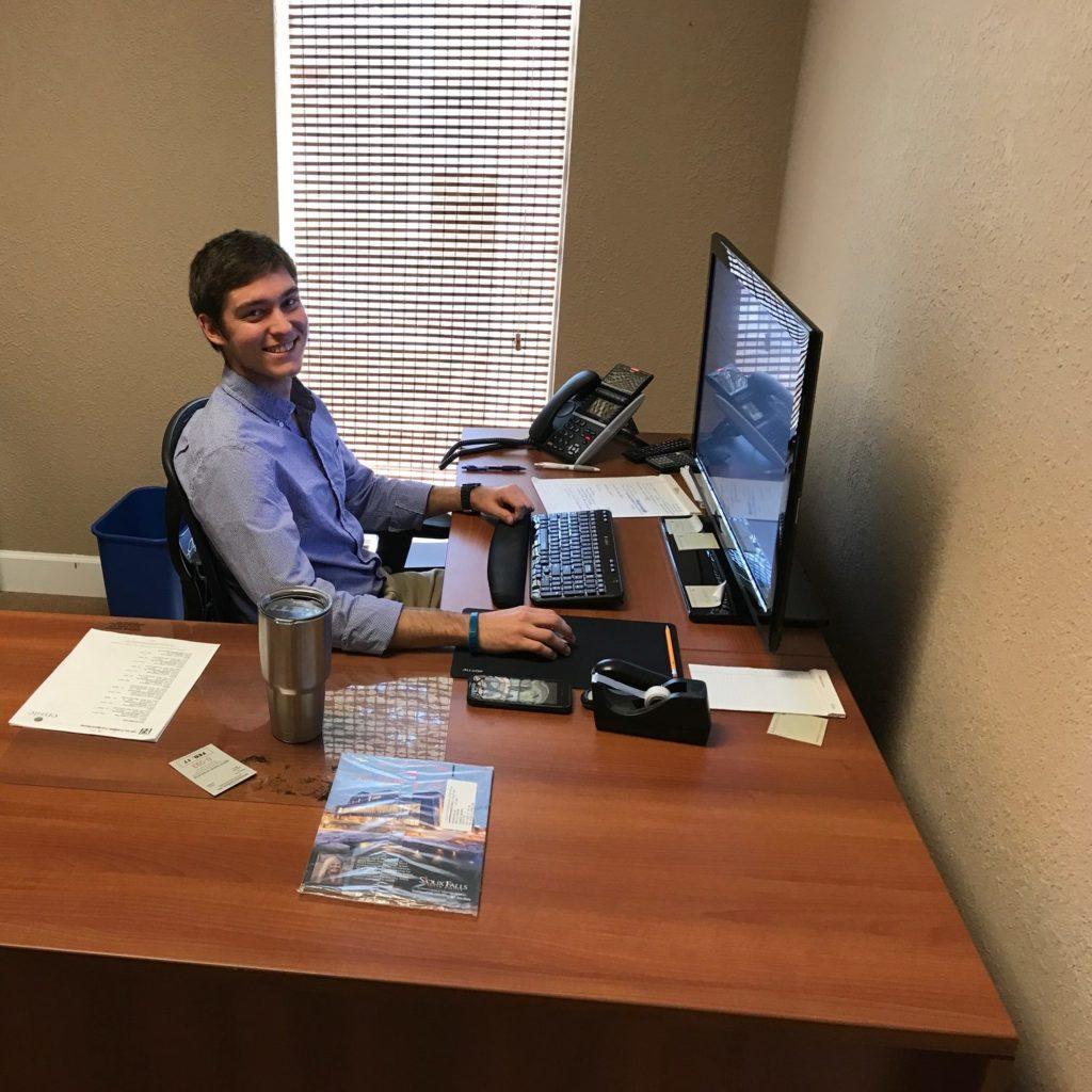 EnSite intern Chris Perrigan